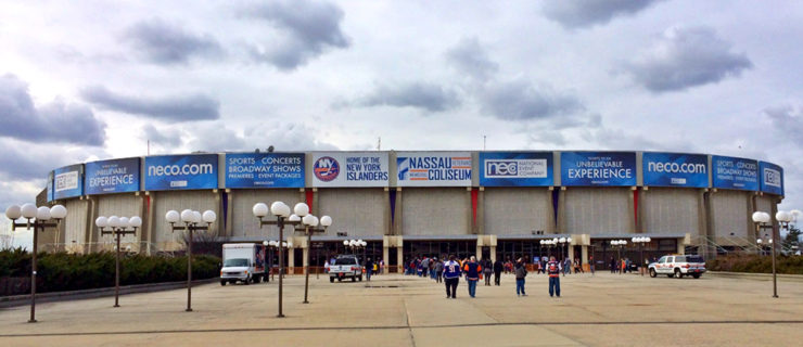 Renovating the Nassau Coliseum