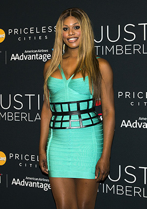 Laverne Cox, star of Orange is the New Black