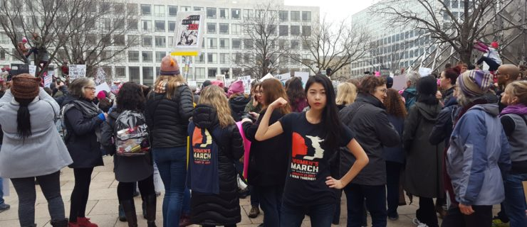 WRHU Reporters Cover Presidential Inauguration and Women's March